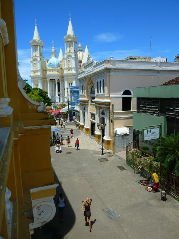 Vista de Ilhéus desde la Casa de Cultura Jorge Amado, donde el escritor vivió hasta los 16 años. Foto: Juan Uribe