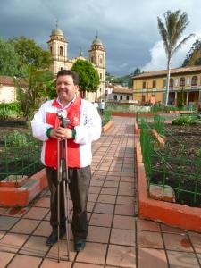 A Orlando Arias le encanta tomar fotos de su pueblo, Nemocón.