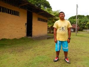 Carlos Julio Rodríguez Caldas, de la etnia wuanano, es capitán de la comunidad de Venado, en Guainía. Foto: Juan Uribe
